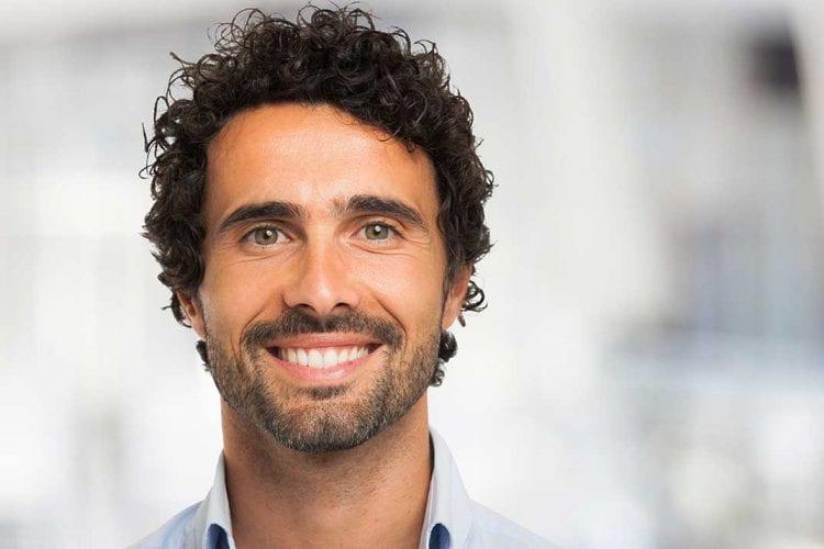 Man Smiling Veneers